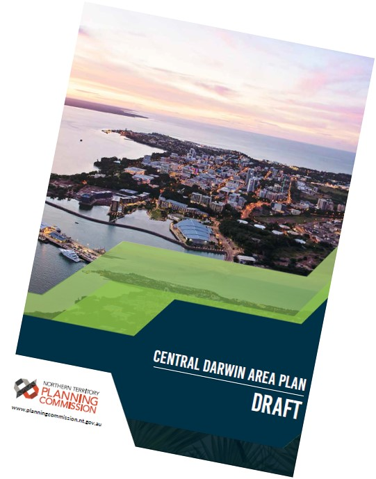 DRAFT Central Darwin Area Plan Cover image