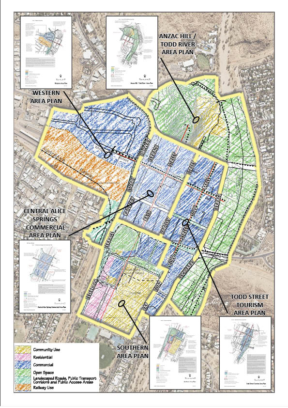 Current Alice Springs Area Plans