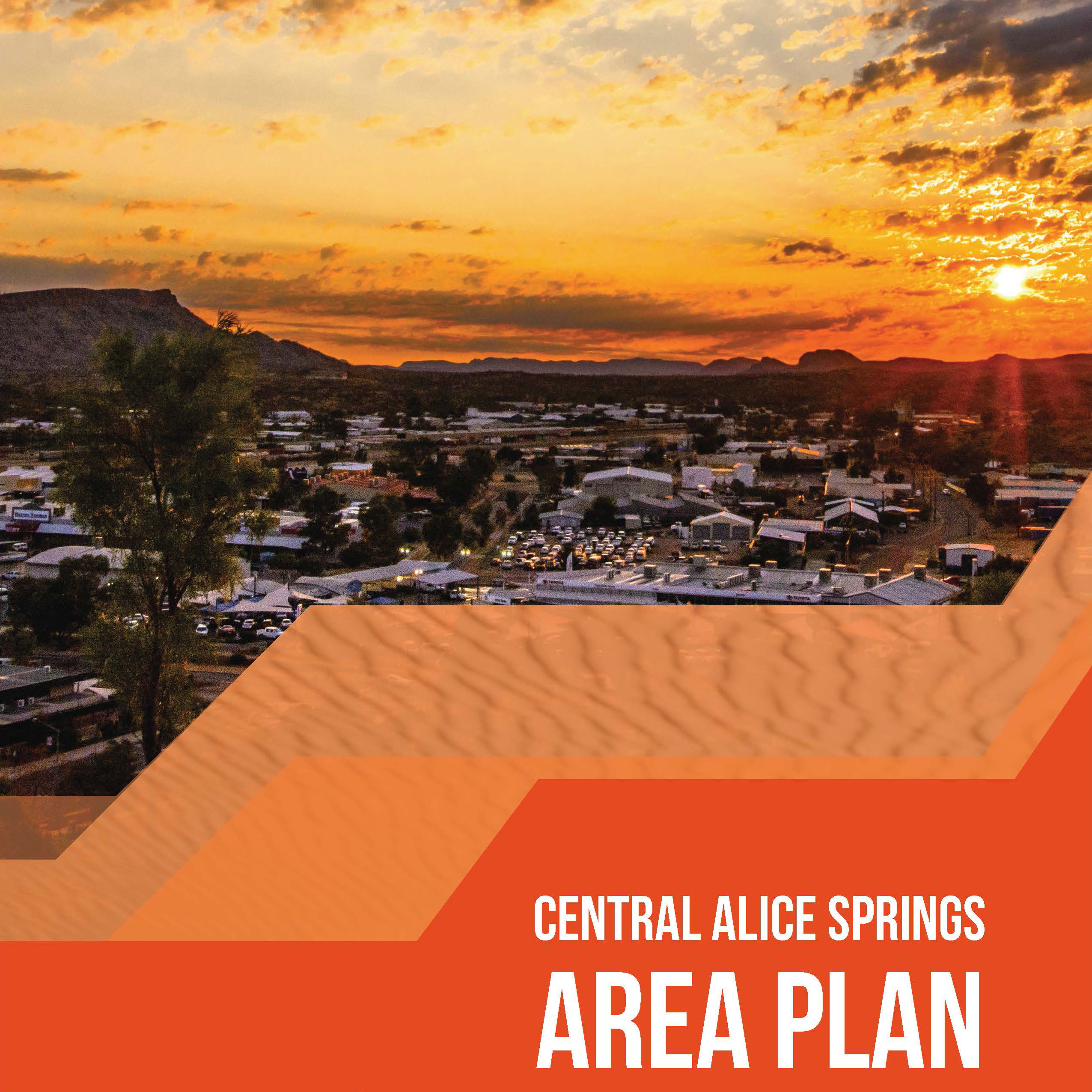 Central Alice Springs Area Plan button