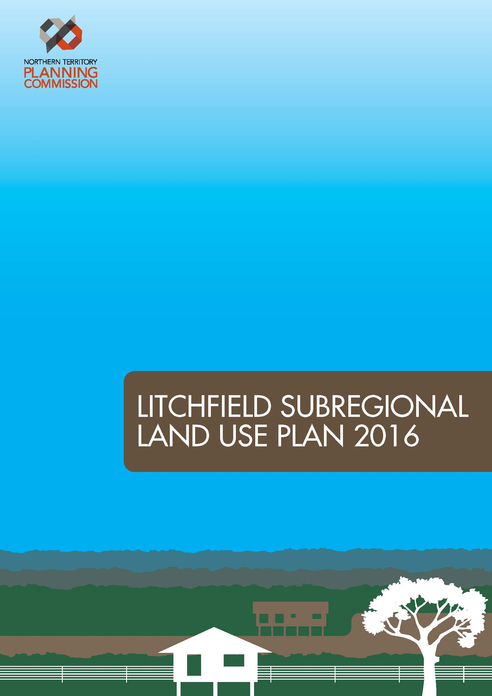 Document Cover - Litchfield Subregional Land Use Plan 2016