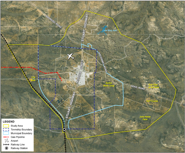 Tennant Creek Land Use Plan study area